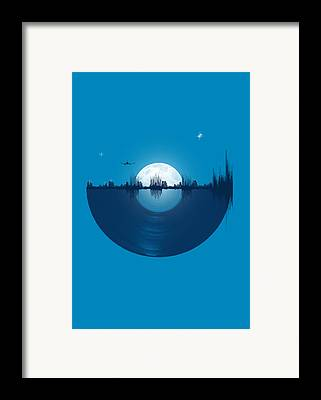 Moon Framed Prints