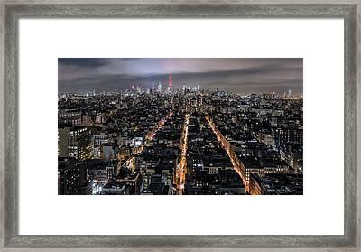 City Veins Framed Print by Eduard Moldoveanu