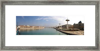 City Viewed From University Bridge Framed Print by Panoramic Images