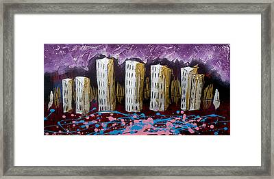 City's Leftovers Framed Print by Nathan Wilson