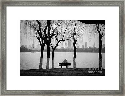 Cityscape 1 - Breathe Framed Print