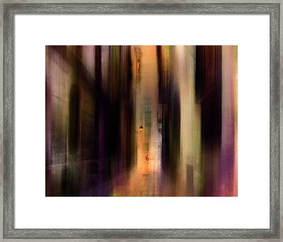 Cityscape (2) Framed Print by Sol Marrades