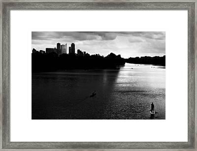 Cityscape 24d A Framed Print