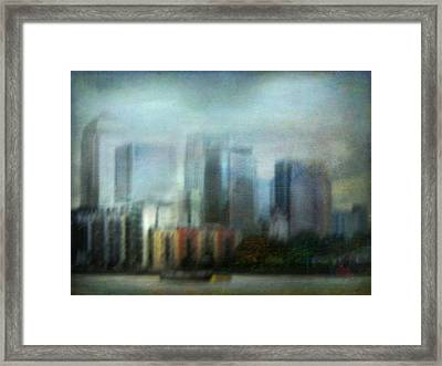Framed Print featuring the photograph Cityscape #26 by Alfredo Gonzalez