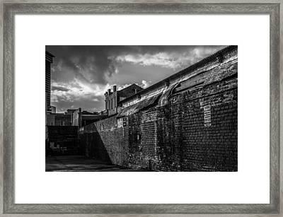 Cityscape 26 B Nola Framed Print by Otri Park