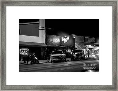 Cityscape A10l Austin Tx Framed Print