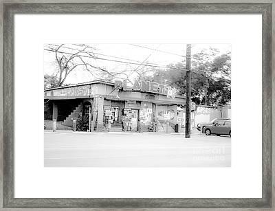Cityscape A10m Austin Tx Framed Print