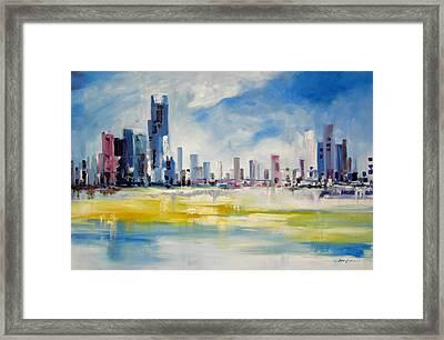 Cityscape Framed Print by Ahmed Amir