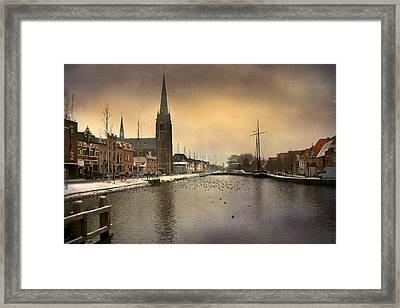 Cityscape Framed Print by Annie Snel