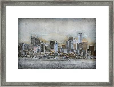 Cityscape Framed Print by Davina Washington