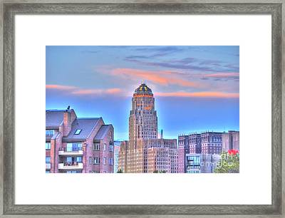 Cityscape Framed Print by Kathleen Struckle