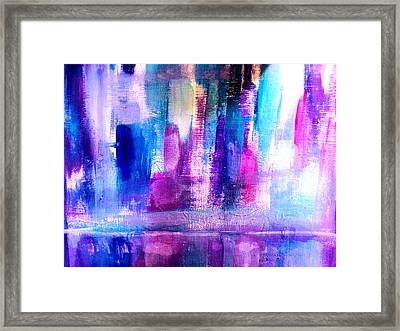Cityscape Framed Print by Nikki Dalton