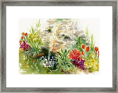 Civic Conservatory Framed Print