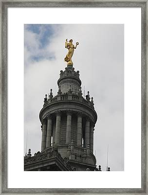 Civic Fame - Victory And Triumph Framed Print