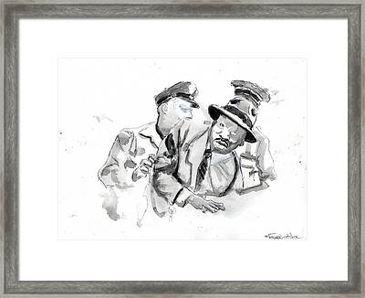 Civil Disobedience 2 Framed Print