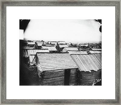 Civil War Centreville, 1862 Framed Print