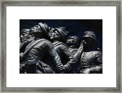 Civil War Figures Framed Print by Paul W Faust -  Impressions of Light