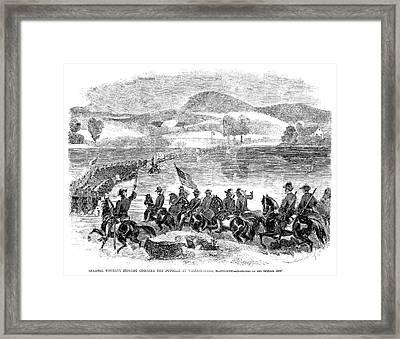Civil War Potomac, 1861 Framed Print