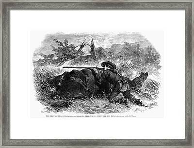 Civil War Sharpshooter Framed Print by Granger