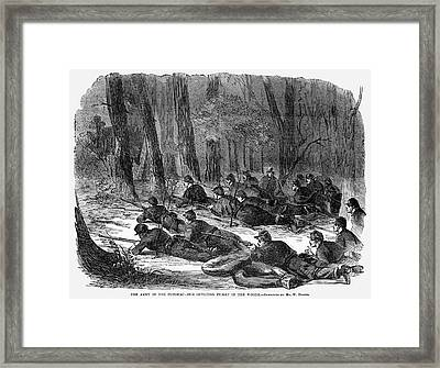 Civil War Soldiers, 1862 Framed Print by Granger