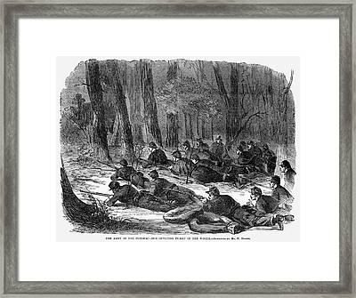 Civil War Soldiers, 1862 Framed Print by Granger