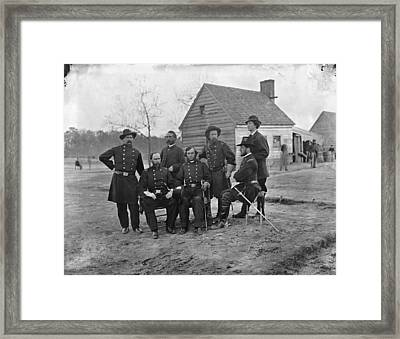 Civil War Surgeons, 1865 Framed Print