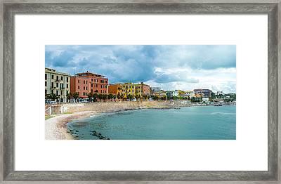 Civitavecchia Italy Framed Print