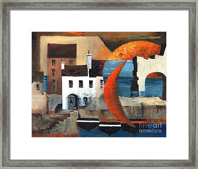 Cladagh Recollections Framed Print
