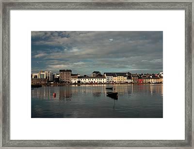 Claddagh  Quays. Framed Print