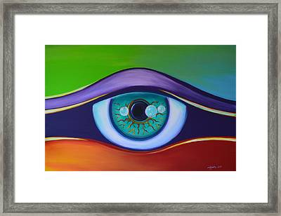 Divine Protection Framed Print by Agata Lindquist