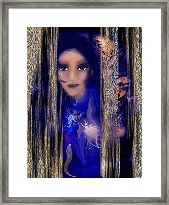 Clairvoyant Seven Framed Print by Patricia Motley