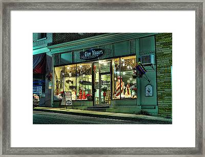 Clam Diggers Framed Print by Steve Hurt