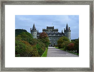 Clan Campbell Inveraray Castle Framed Print by DejaVu Designs