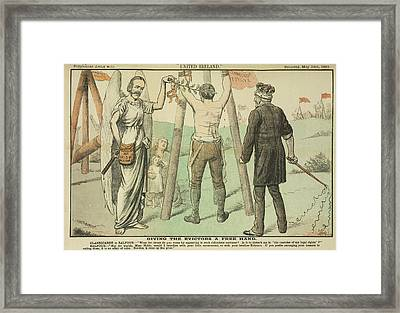 Clanricarde And Balfour Framed Print
