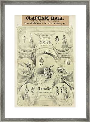 Clapham Hall Framed Print