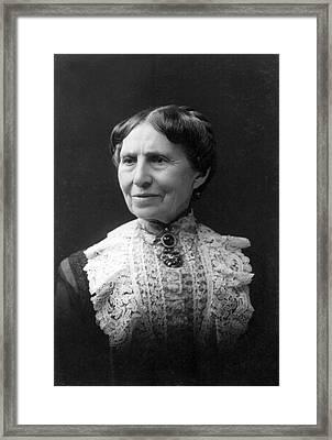 Clara Barton Framed Print by E. Purdy