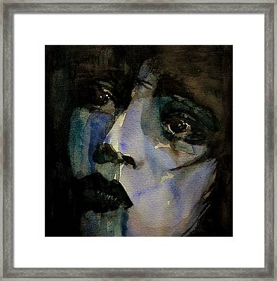 Clara Bow  Framed Print by Paul Lovering