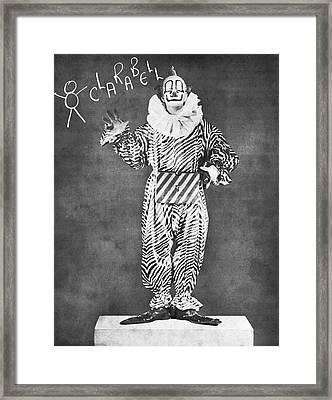 Clarabell The Clown Framed Print
