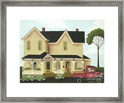 Clara's Confections Framed Print by Catherine Holman