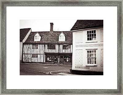 Clare Town Framed Print by Tom Gowanlock
