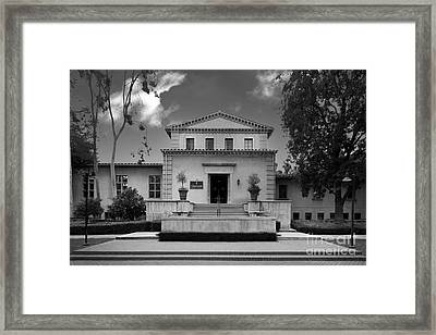 Claremont Graduate University Harper Hall Framed Print by University Icons