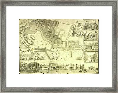 Claremont House Framed Print