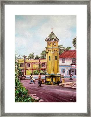 Claremont Square Framed Print