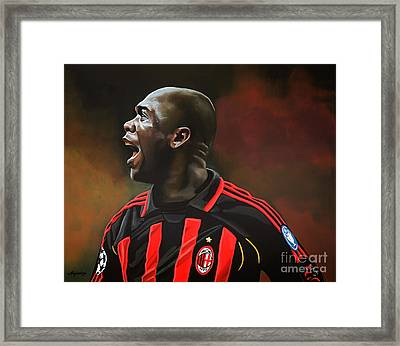 Clarence Seedorf Framed Print by Paul Meijering