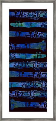 Clarinet Keys Framed Print