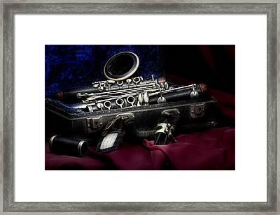 Clarinet Still Life Framed Print by Tom Mc Nemar
