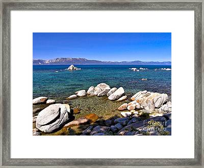 Clarity - Lake Tahoe Framed Print