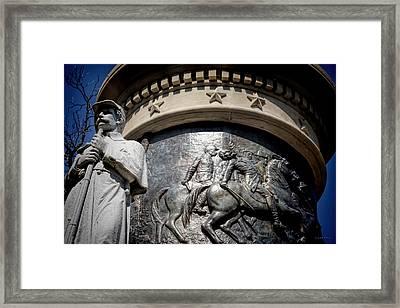 Clarity Of War V Framed Print by Lesa Fine