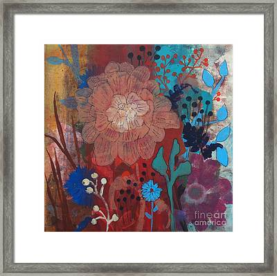 Framed Print featuring the painting Clarity by Robin Maria Pedrero