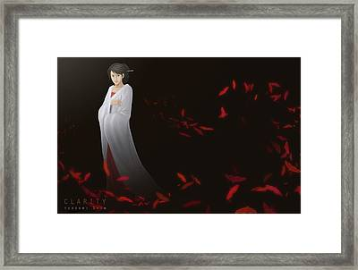 Clarity Ver.b Framed Print by Hiroshi Shih